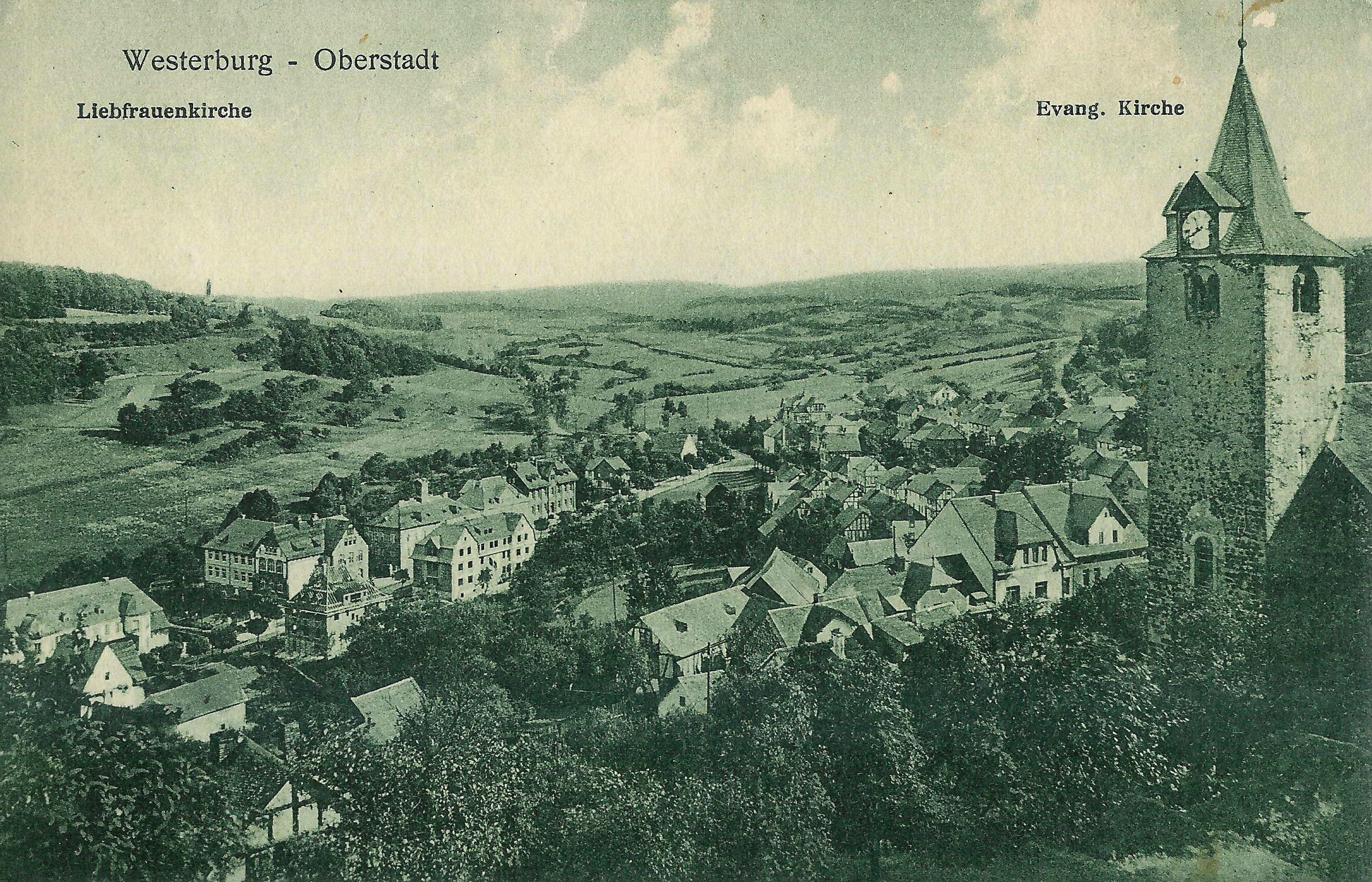 Westerburg damals und heute for Westerburg kuchen